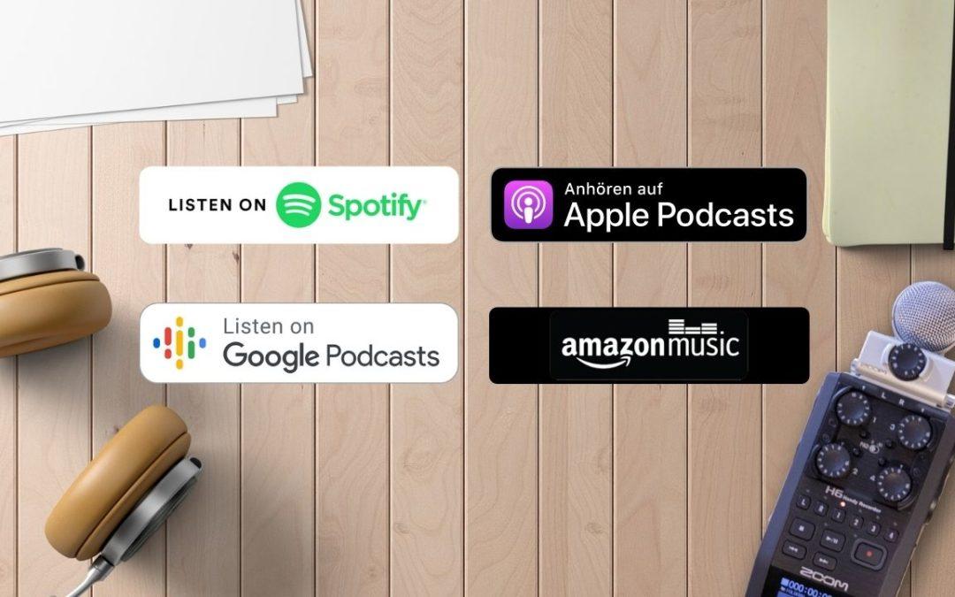 Podcast Plattformen im Vergleich: Was bieten Spotify, iTunes, Google Podcast und Amazon Music für Podcaster?