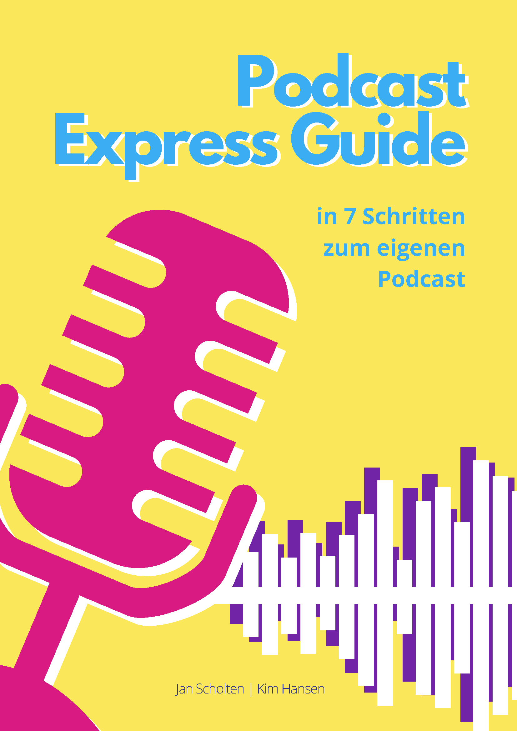 Podcast Express Guide: Titelseite