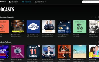 Amazon Music – Podcast einreichen: Schritt-für-Schritt Tutorial