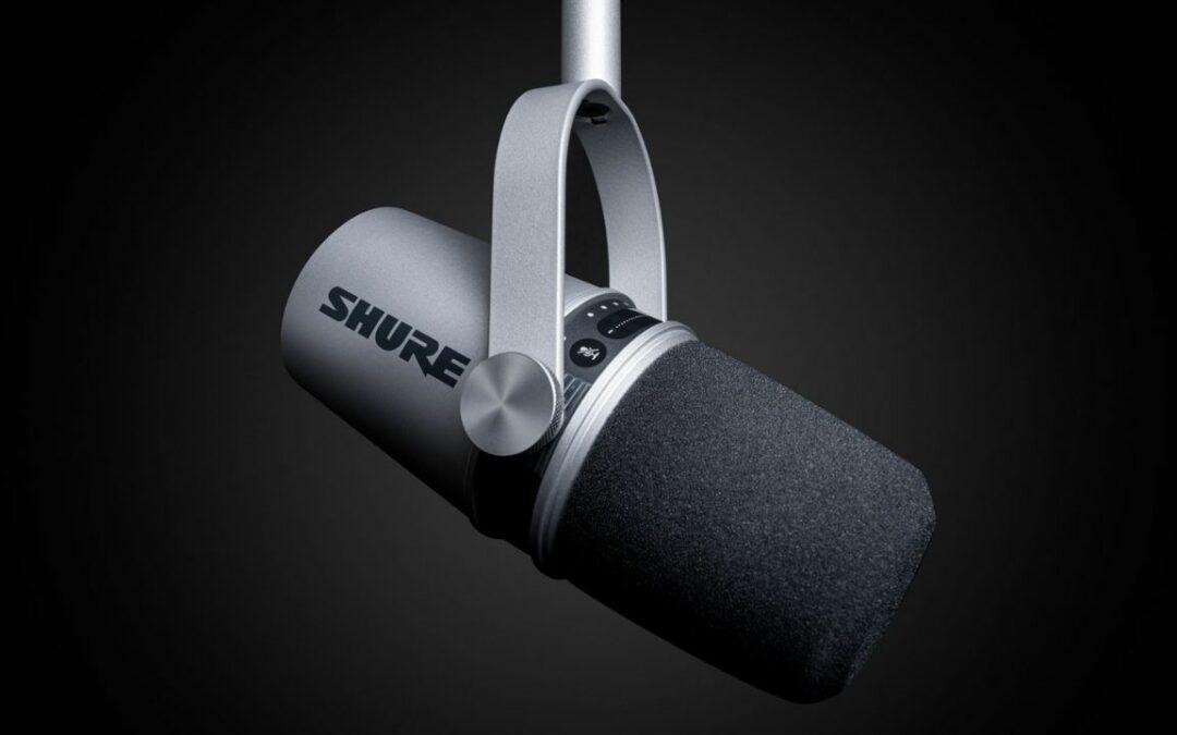 Podcast Mikrofon: Shure MV7 – Das perfekte Mikrofon für Podcasts!