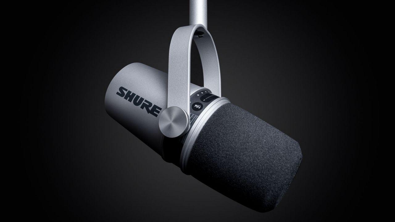 Podcast Mikrofon Shure MV7 im Test